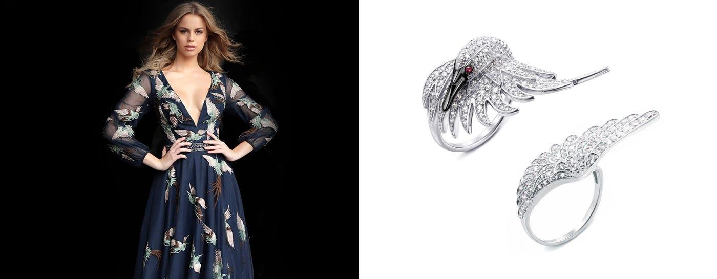 Серебряные кольца с фианитом цена