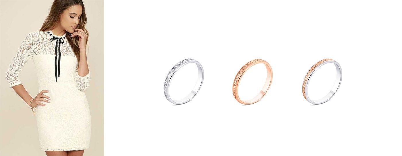 Серебряные кольца Спаси и Сохрани купить